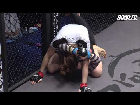 ROAD FC 023 Kim Ji-Yeon defeats Hatice Ozyurt by Submission