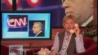 Ellen calls The Situation Room