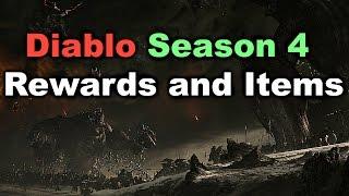 """Diablo 3 - Season 4 Rewards and Items """"Unlockable Pet and Portrait Frame"""""""