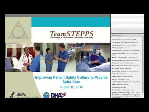 Improving Patient Safety Culture To Provide Safer Care