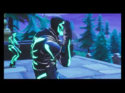 Spooky Scary Skeletons | Fortnite Edition! (Living Tombstone Remix)