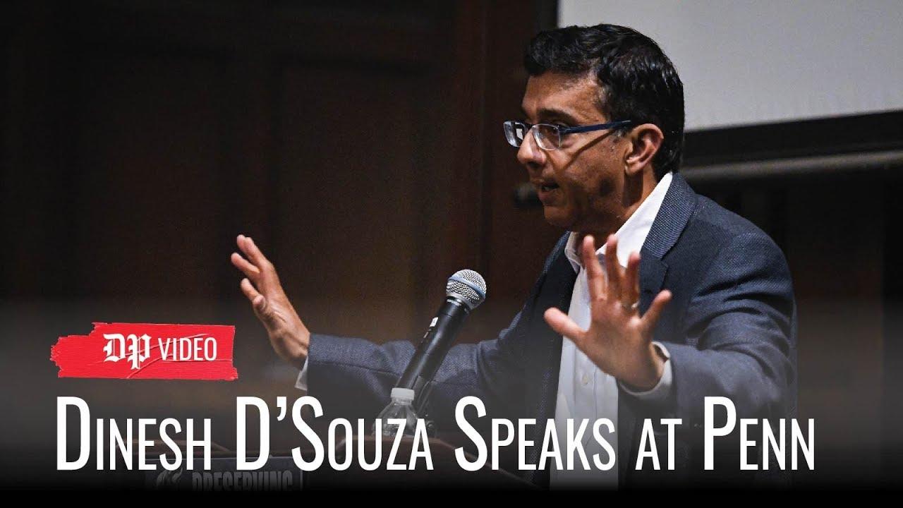 Dinesh D'Souza speaks at Penn