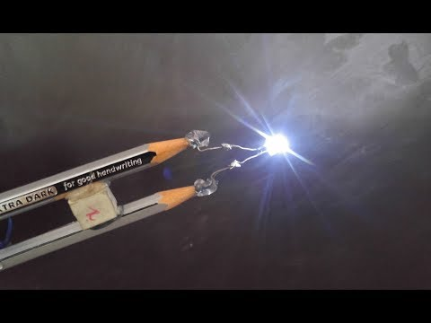 Mini Pencil Emergency light II Long Lasting II Homemade Science Project..