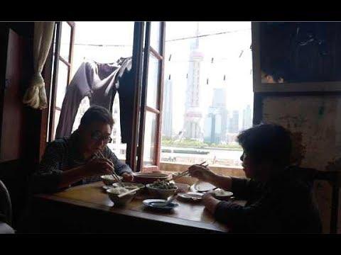 30平外滩无敌江景房,上海老夫妻每日看外滩吃饭