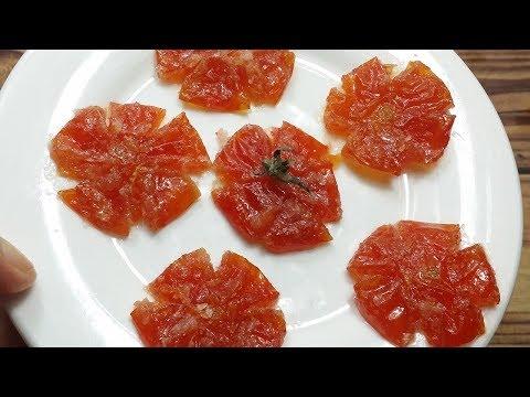 Cách làm mứt cà chua dẻo mới lạ chuẩn bị đón tết mậu tuất