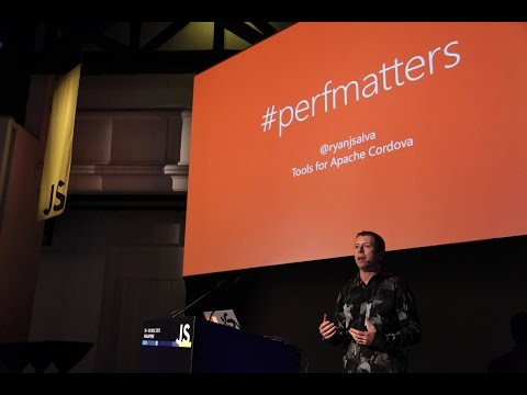 Ryan J Salva: JS performance in mobile web and hybrid apps… because science! - JSConf.Asia 2015