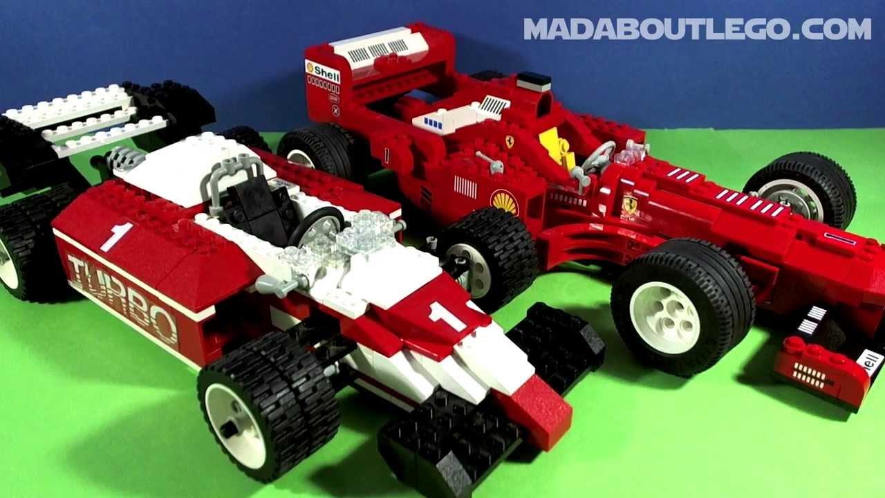 Lego Formula 1 Racer 5540 Youtube