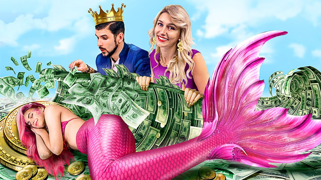 Mermaid was Adopted by a Billionaire Family! / Funny Situations