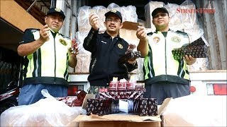 AKSEM officers uncover attempt to smuggle in RM1.1 million worth of illicit cigarettes