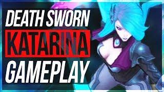 BEST KATARINA SKIN! Katarina w/ New Runes - New Death Sworn Katarina Gameplay - League of Legends
