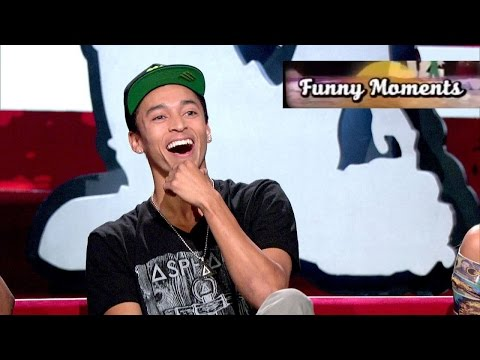Nyjah Huston - Funny Moments