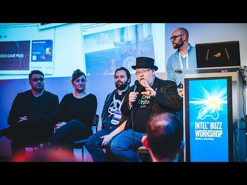 """Panel: Bringing out the """"Buzz"""" in Intel Buzz Workshop   Intel® Buzz Workshop Berlin 2018"""