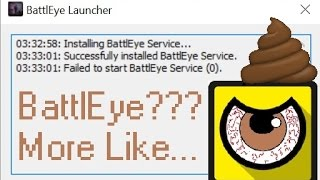 BattlEye Failed to Launch DayZ and H1Z1