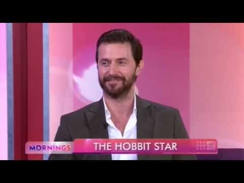 Richard Armitage interviewed on Mornings (Australia)