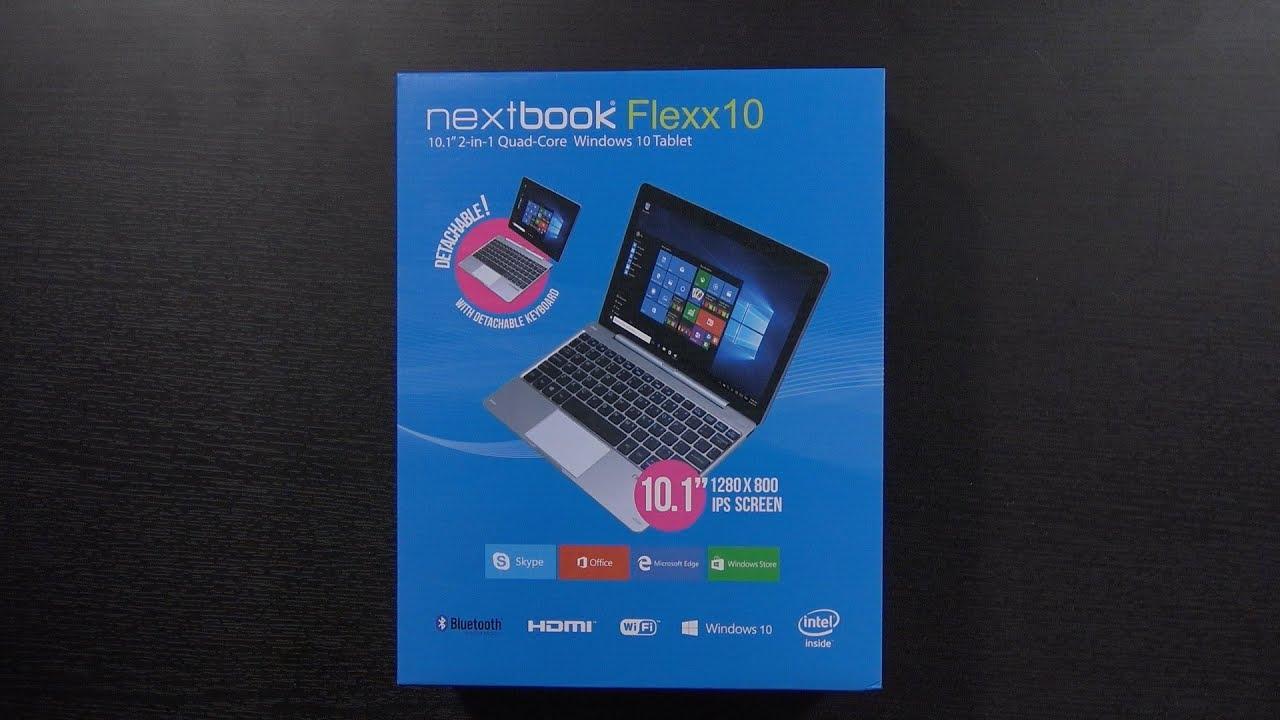 A $100 Windows 10 Laptop/Tablet? | Nextbook Flexx 10