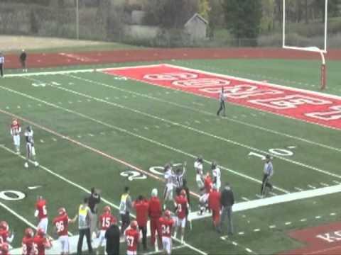 Olivet College football highlights vs. Kalamazoo (10-15-2011)