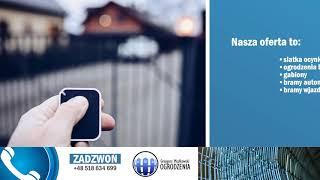 Bramy garażowe ogrodzenia panelowe gabiony Klwatka Szlachecka PUH Grzegorz Miałkowski