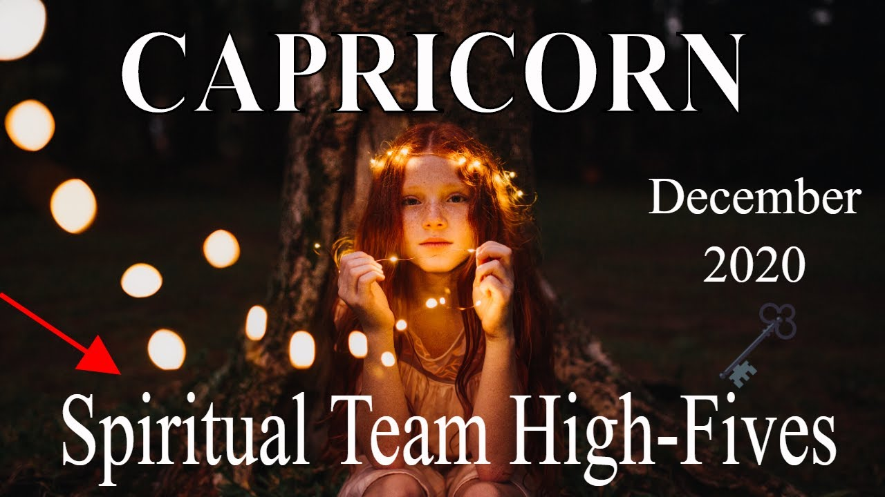 Capricorn ~ It Couldn't Have Been Any other Way ~ Psychic Tarot Reading December 2020