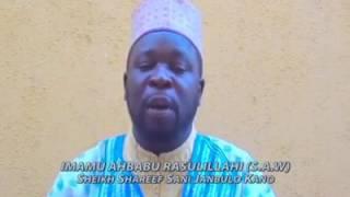 Sheikh Sharif Sani Janbulo - Ya Al'umar Annabi !