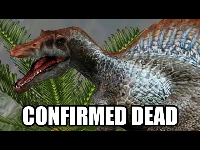 Spinosaurus Confirmed Dead (w/ Proof) - Jurassic World: Fallen Kingdom