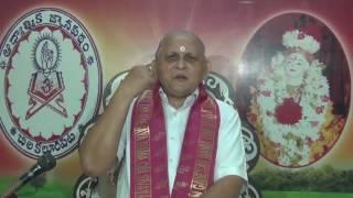 Brahma Sutramulu : Day 37 : CH03 Padam3 : Prana, Sandilya, Purusha Vidya  : Sri Chalapathirao
