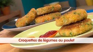 Recette de Croquettes de légumes au poulet - 750g