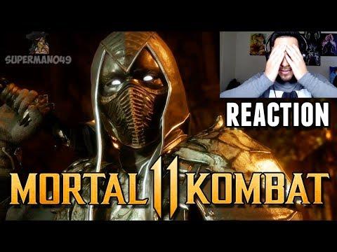 HE\'S BACK! NOOB SAIBOT REACTION! - Mortal Kombat 11 \