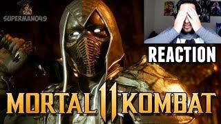 """HE'S BACK! NOOB SAIBOT REACTION! - Mortal Kombat 11 """"Noob Saibot"""" Gameplay REACTION"""