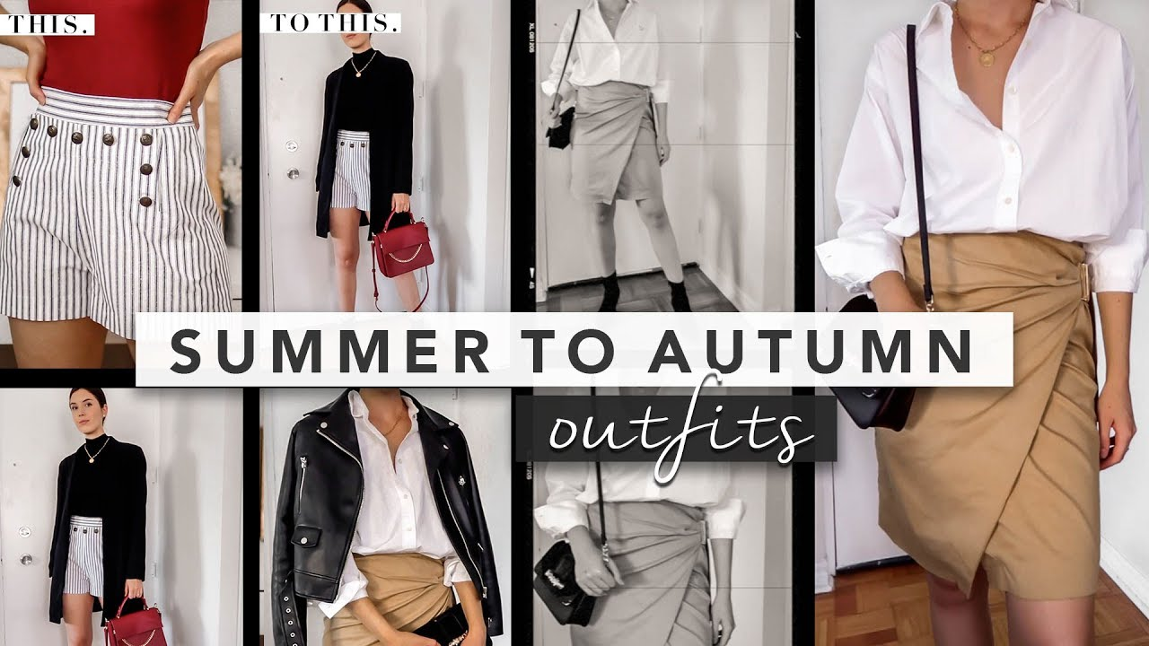 [VIDEO] - Summer to Fall Outfits: How to Transition Summer Pieces to Fall | by Erin Elizabeth 9
