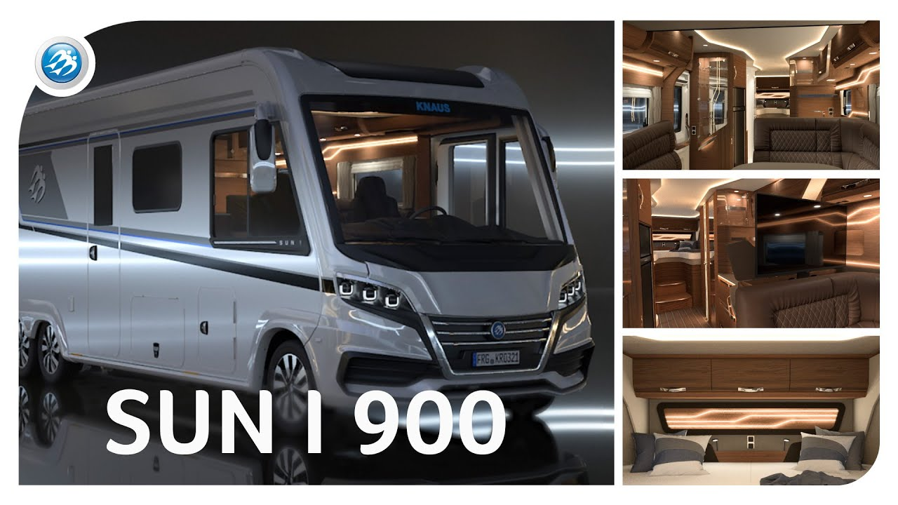 ★NEW 2021★ KNAUS SUN I 900 – Luxury Motorhome in its Purest Form