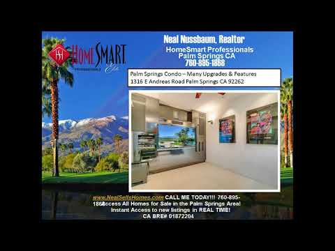 Palm Springs Condo For Sale Home Theater and Water Feature Inside Palm Regency