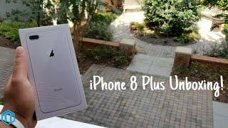 iPhone 8 Plus Unboxing!