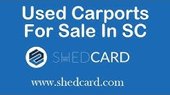 Used Carports For Sale In SC