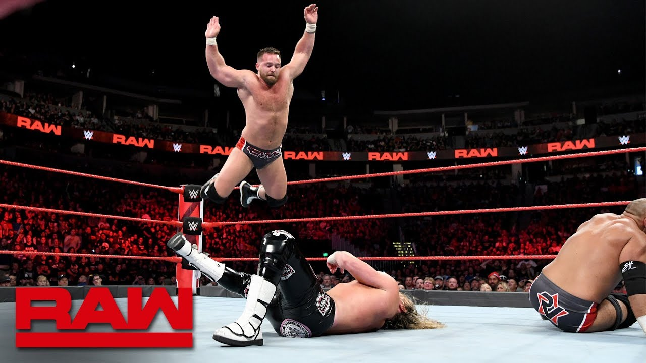 Dolph Ziggler & Drew McIntyre vs. The Revival - Raw Tag Team Championship Match: Raw, Sept. 24, 2018