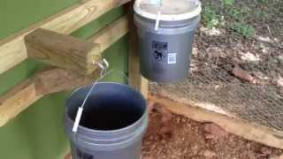 How To Build Diy Chicken Feeder And Waterer