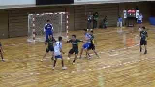 2013JOCハンドボール全国大会 福岡選抜VS香川選抜
