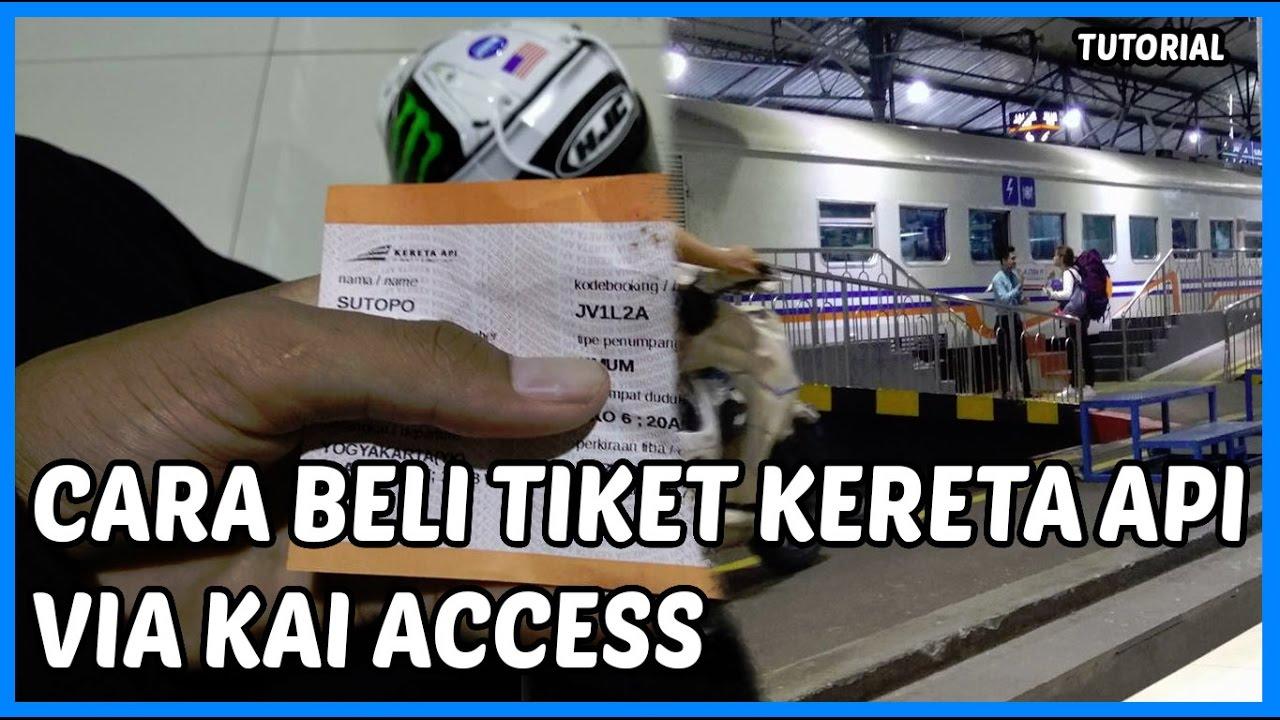 cara beli tiket kereta api online via aplikasi kai access dan pembayarannya