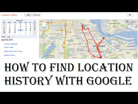 How to Find Location History With Google