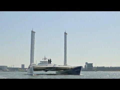 شاهد: أول قارب هيدروجيني في العالم يبحر إلى أمستردام  - نشر قبل 12 دقيقة