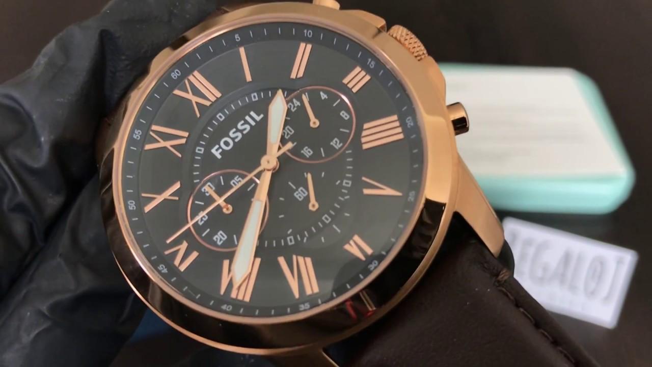 d1954baaf Reloj FOSSIL FS5068 - UNBOXING FOSSIL Watch FS5068 (Regaloj) - YouTube
