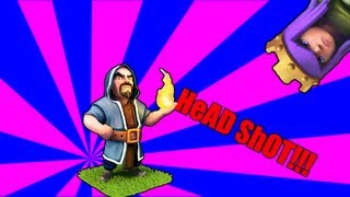Clash of clans - WizarD HeAD SHoT