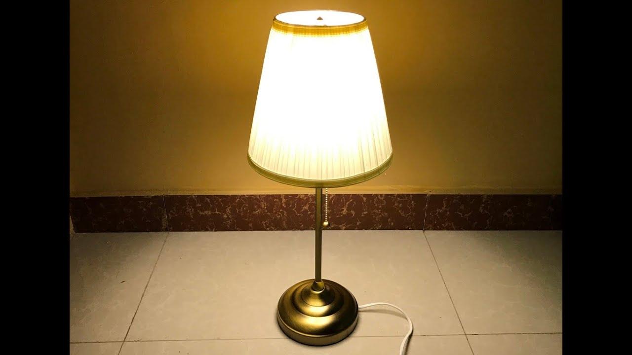 Ikea Arstid Table Lamp Assembly Youtube