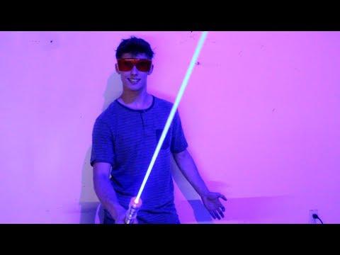 My Homemade 6W Laser Sword!!!