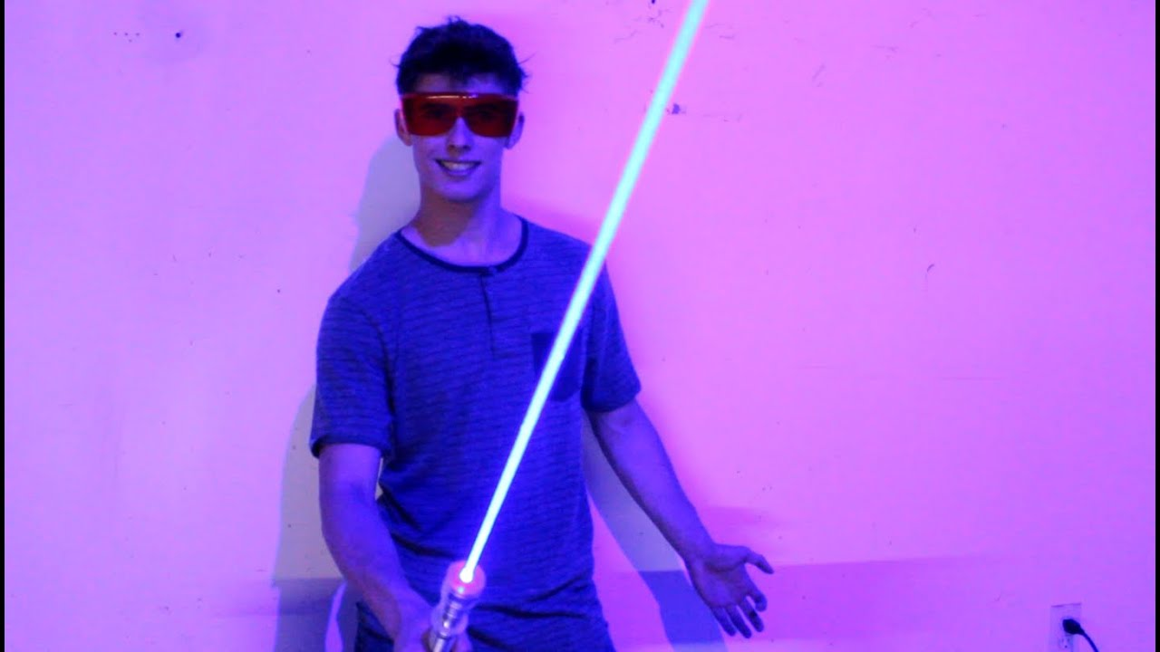 My Homemade 6w Laser Sword Youtube