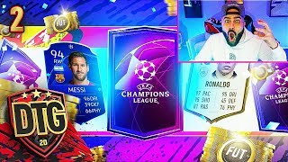 YES! I GOT THE RAREST REWARDS IN FIFA!! FIFA 20 Ultimate Team Draft To Glory