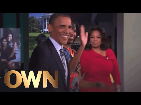 #13: Oprah Interviews a Sitting President and First Lady | TV Guide's Top 25 | Oprah Winfrey Network