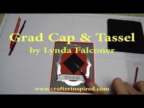 Graduation cap paper punch