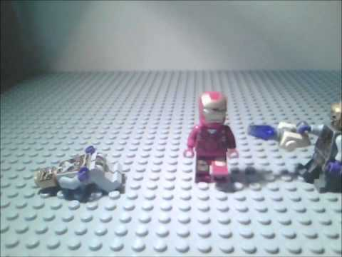 LEGO iron man loki movie mini clips nom 2
