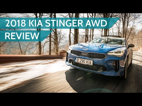 2018 Kia Stinger diesel AWD review