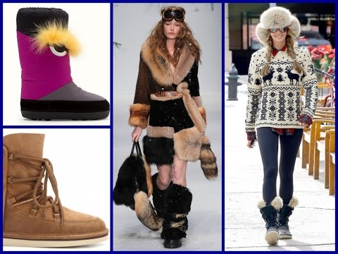 Fashion Trends: Top 20 Snow Boots for Winter 2017 - YouTube